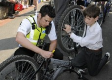 May 02, 2012 - Bike Project begins in conjunction with Metropoiltan Police