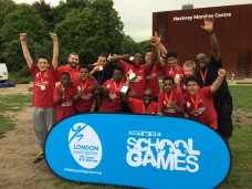 May 23, 2017 - London Youth Games Cup Winners