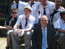 July 01, 2009 - Simon Hughes visits the school