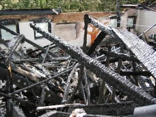 May 17, 2004 - Fire destroys all of the main school building