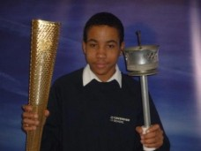 March 05, 2012 - Students get sneak preview of Olympic Torch